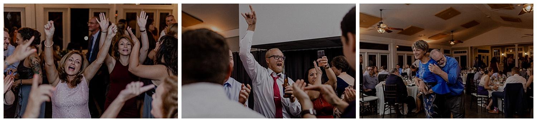 crazy wedding reception
