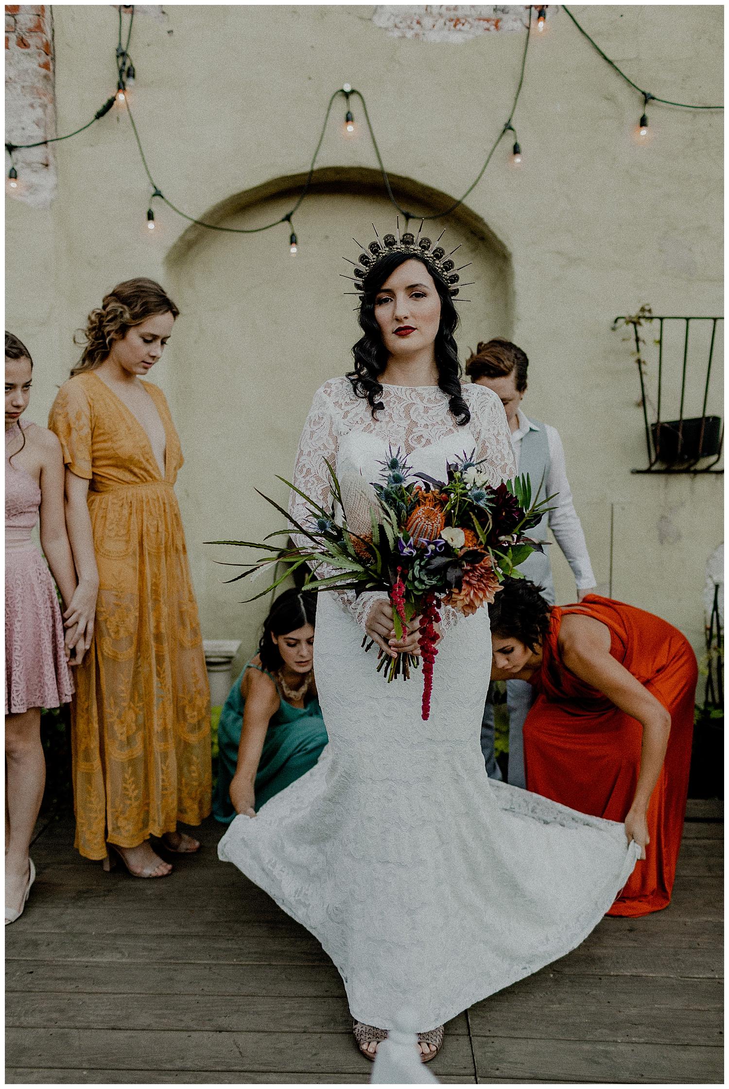 a boujee bride