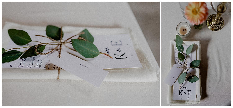 bohemian wedding details