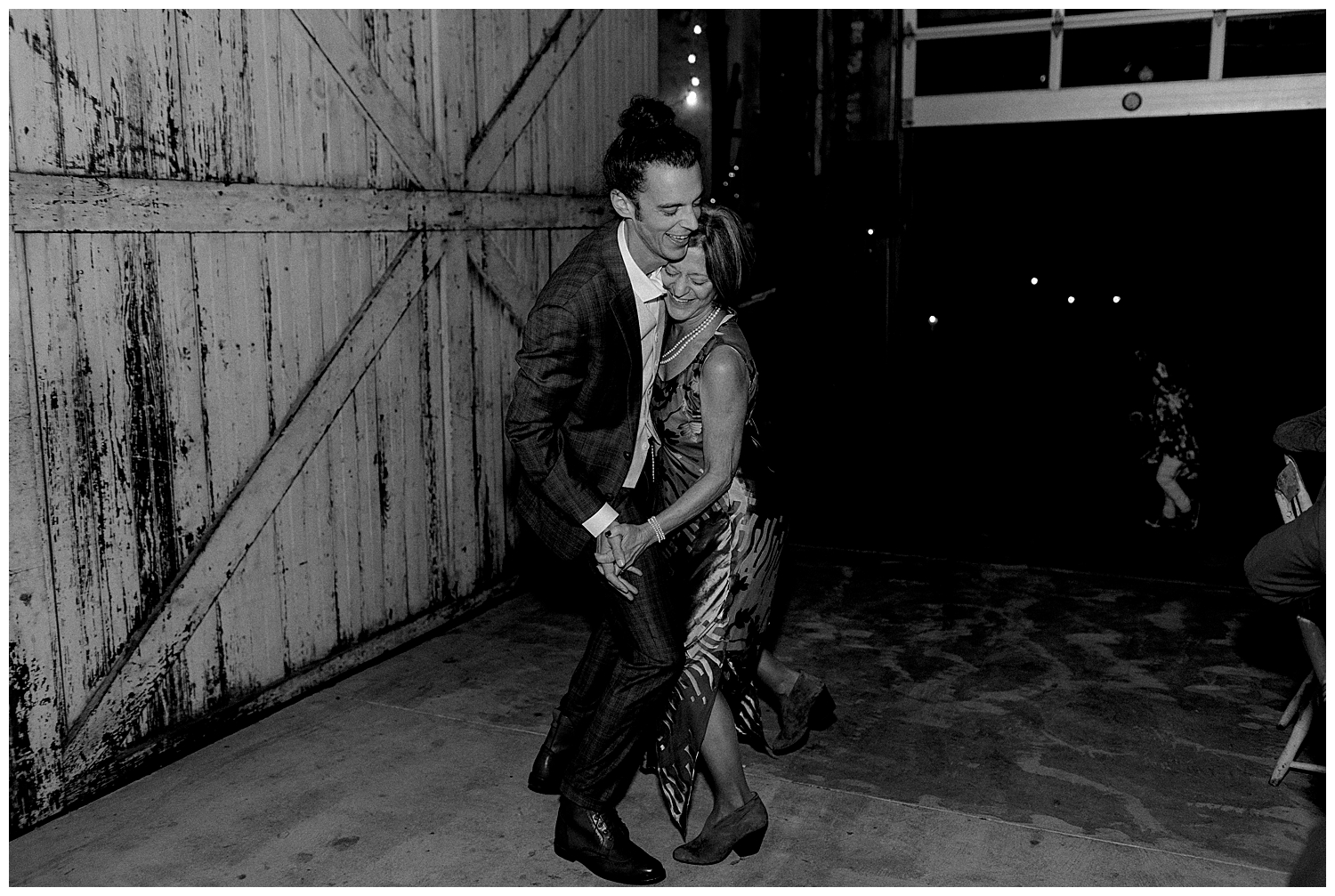 mom and son first dance
