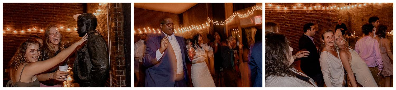 run wedding reception