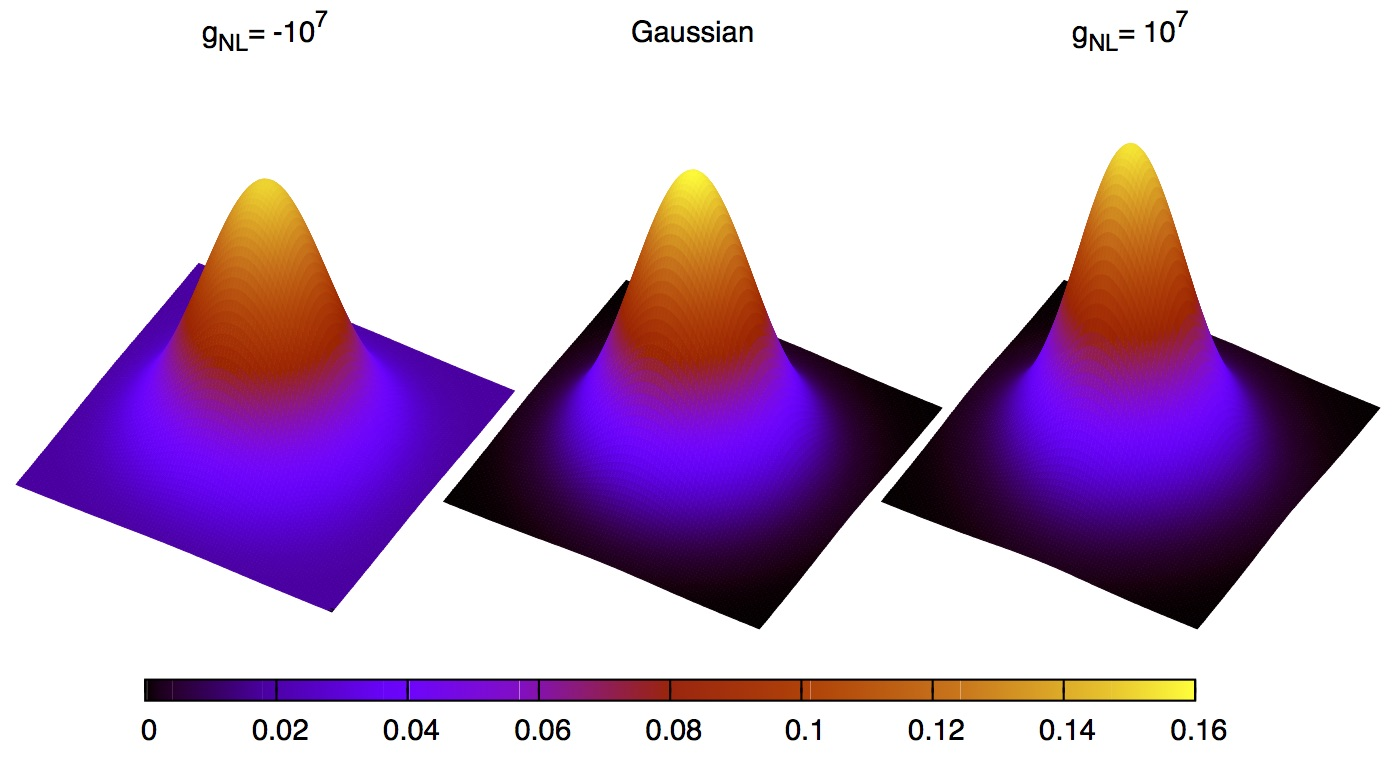 Primordial Non-Gaussianity visualised in 3D (2010).