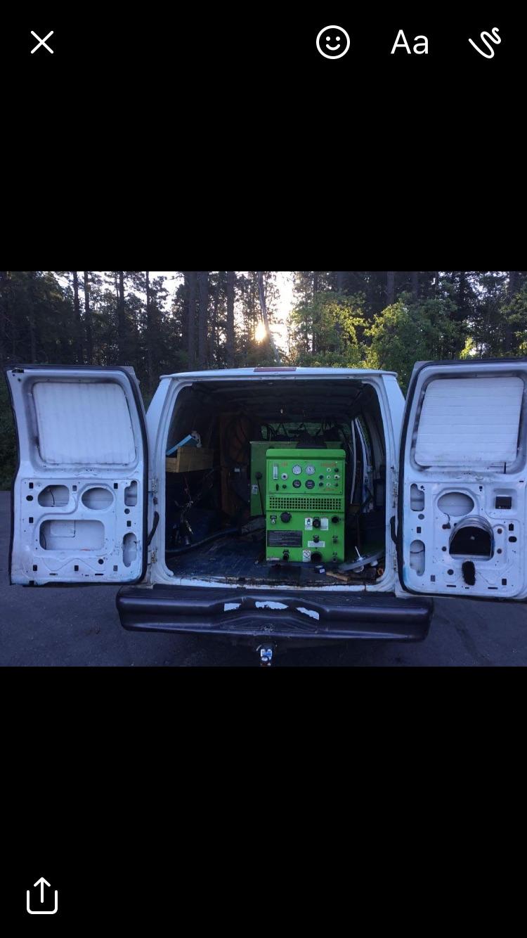 Van back view of equipment.JPG