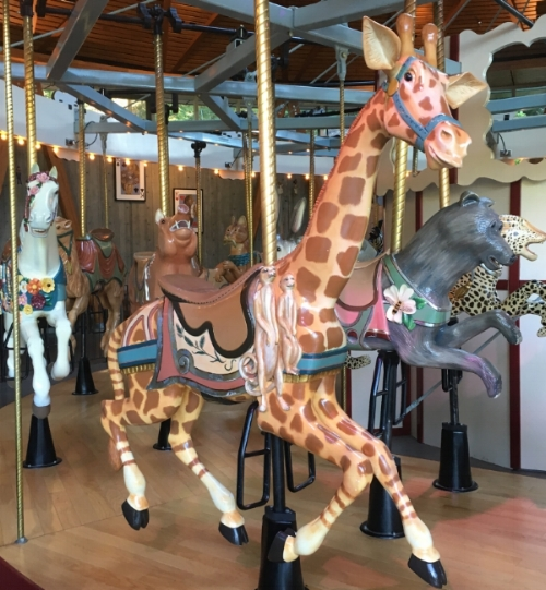 The lure of the playful carousel at Butchart Gardens, Victoria, British Columbia.