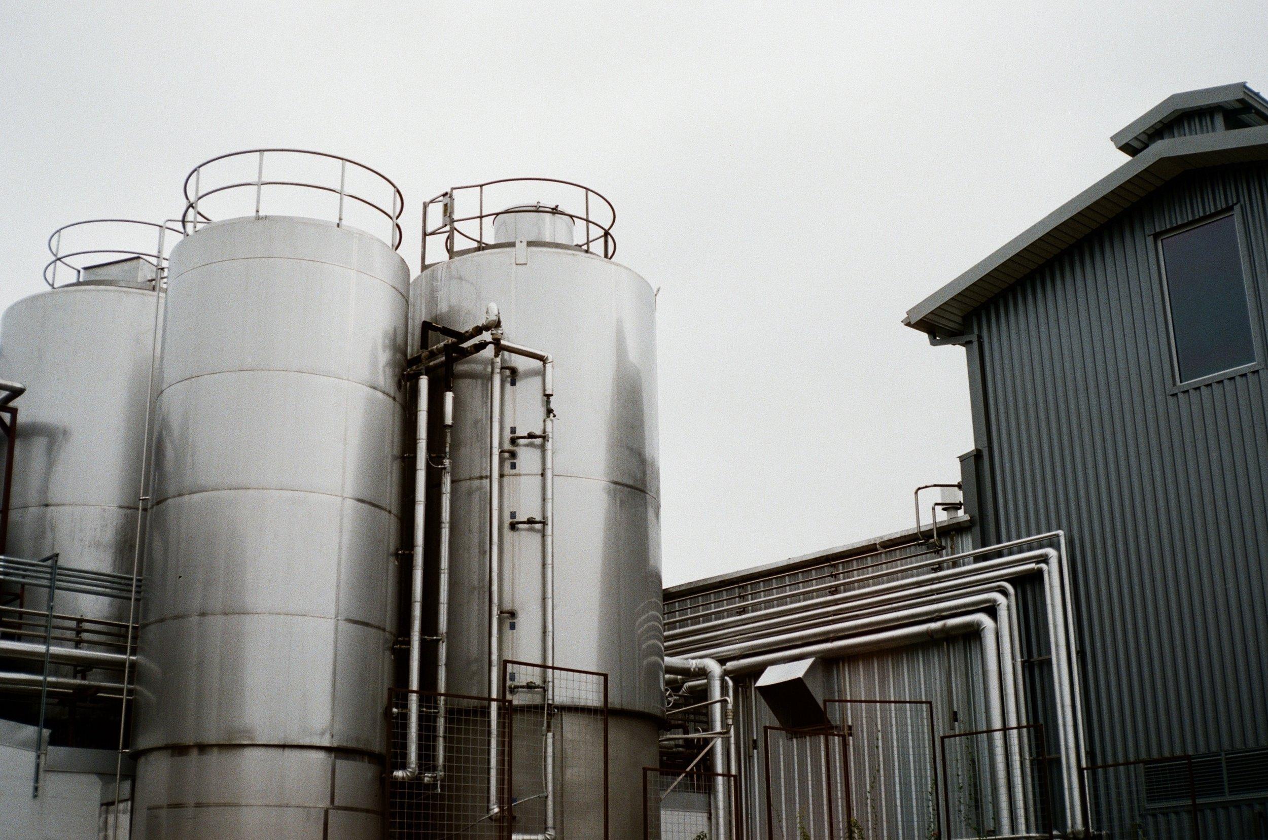 Real Ale Brewing Company  Ricoh 35 EFS | Fujifilm Superia 400  by Lynn Cano