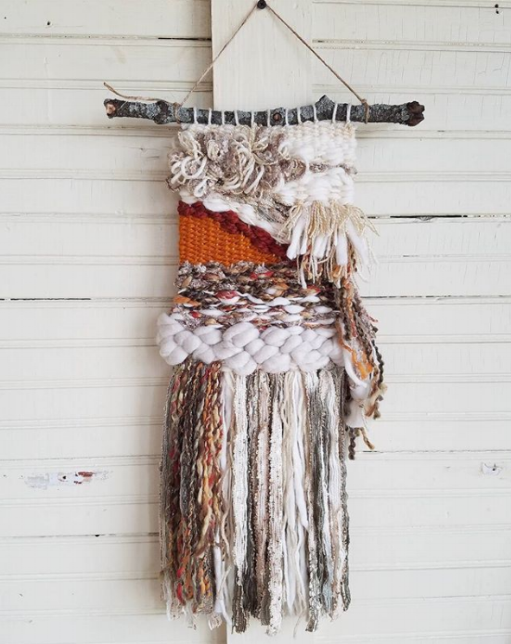 Handwoven by the wonderful Jody of @six1one_