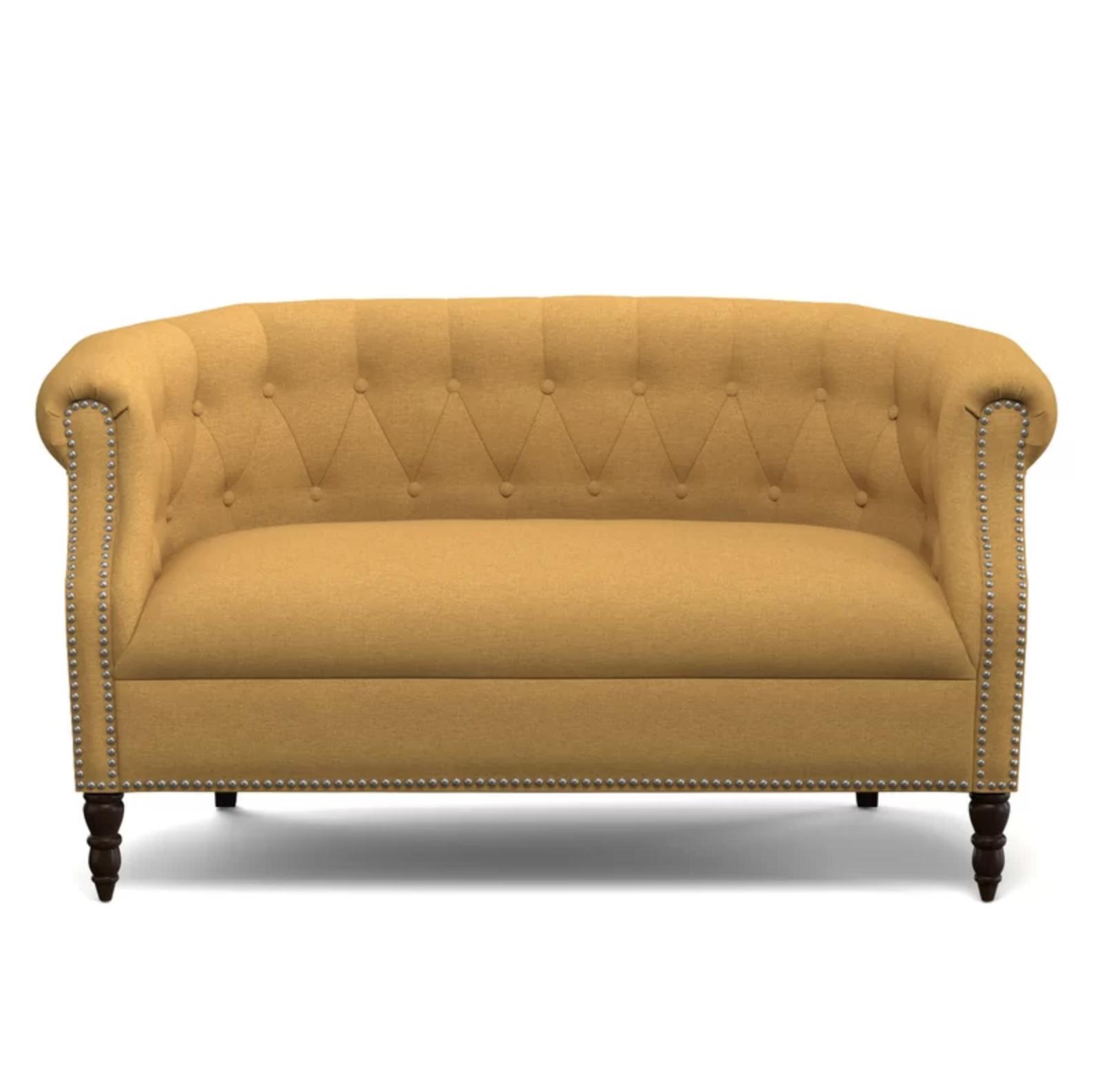 Yellow Love Seat