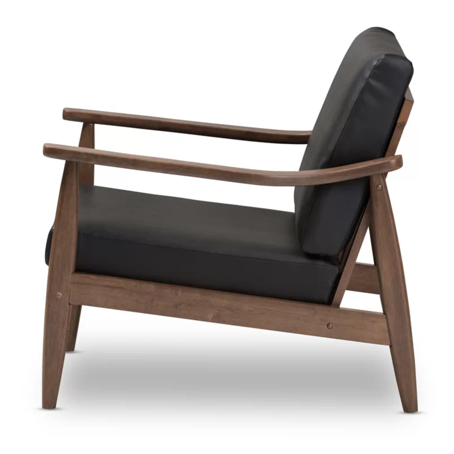Mid Mod Black Chair