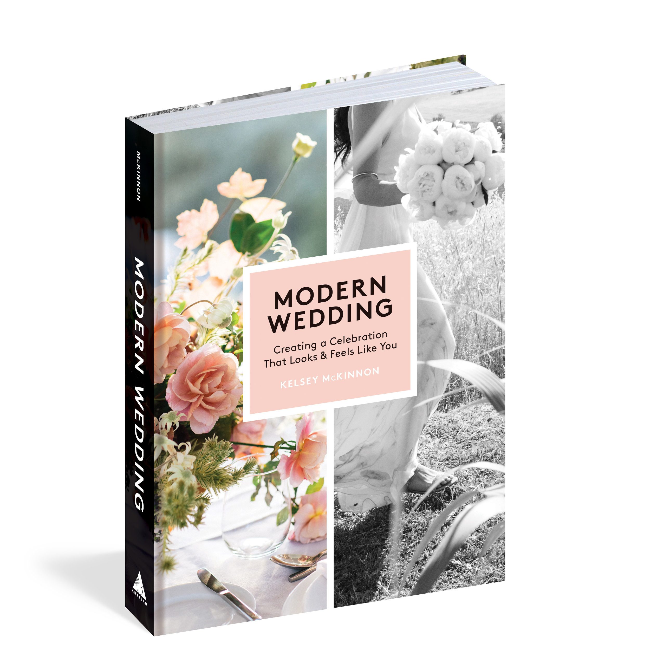Slow Down and Enjoy your Engagement with the Modern Wedding Book by Kelsey McKinnon