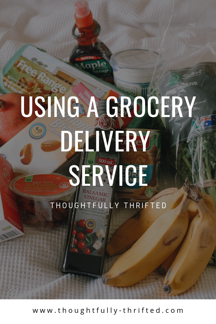 Grocery Delivery Service, save time grocery shopping, save money on groceries, how to save money on groceries, how to stick to your grocery budget, how to get time back in your week