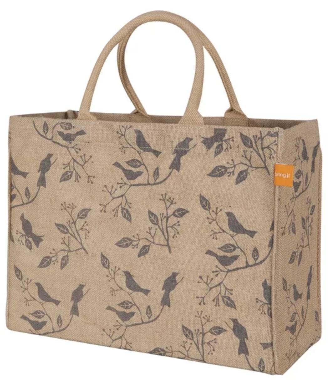 Zero Waste, Sustainable, Eco Friendly, Jute Reusable Grocery Market Bag | Miranda Schroeder Blog