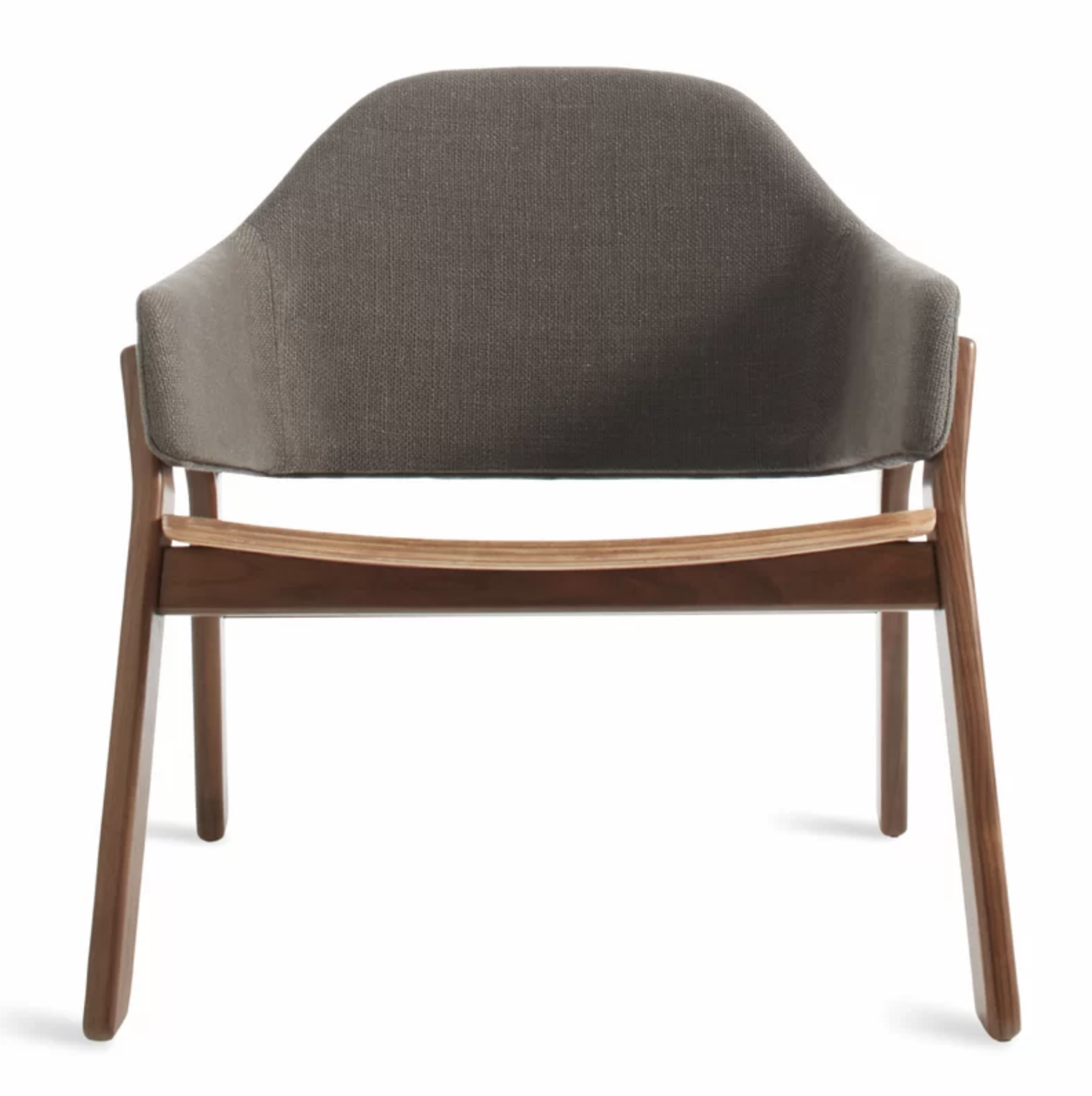 Mid Mod Gray and Teak Modern Gray Accent Chair Accent Chair Roundup | Modern, Industrial, Rustic, Beach, Boho Accent and Arm Chairs | Miranda Schroeder Blog