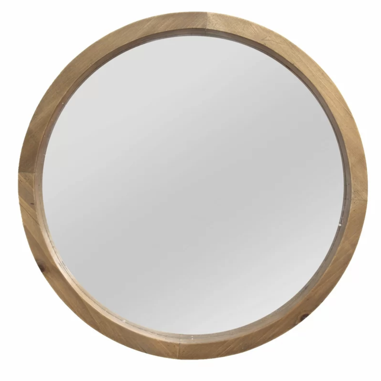 Wood Round Accent Mirror | Shop Miranda Schroeder Blog