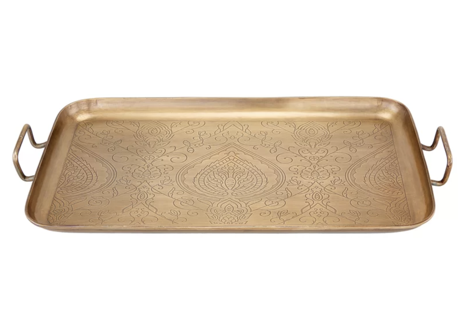 Rectangular Etched Steel Tray | Shop Miranda Schroeder Blog