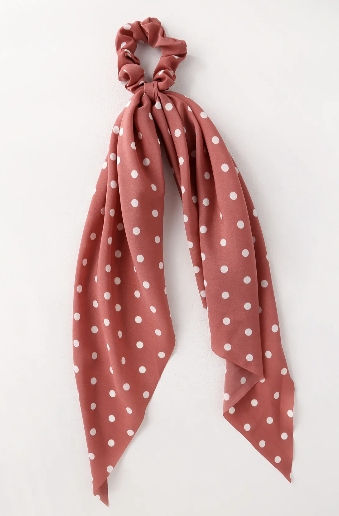 Polka Dot Pink Hair Scarf | Hair Accessories | Shop Miranda Schroeder Blog