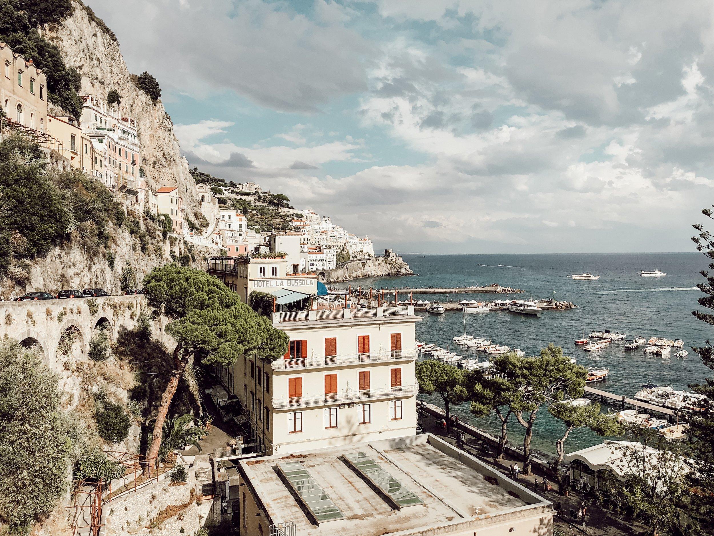 Airbnb Amalfi Coast Italy | Where to Stay Amalfi Coast | Italy Travel Guide Miranda Schroeder Blog