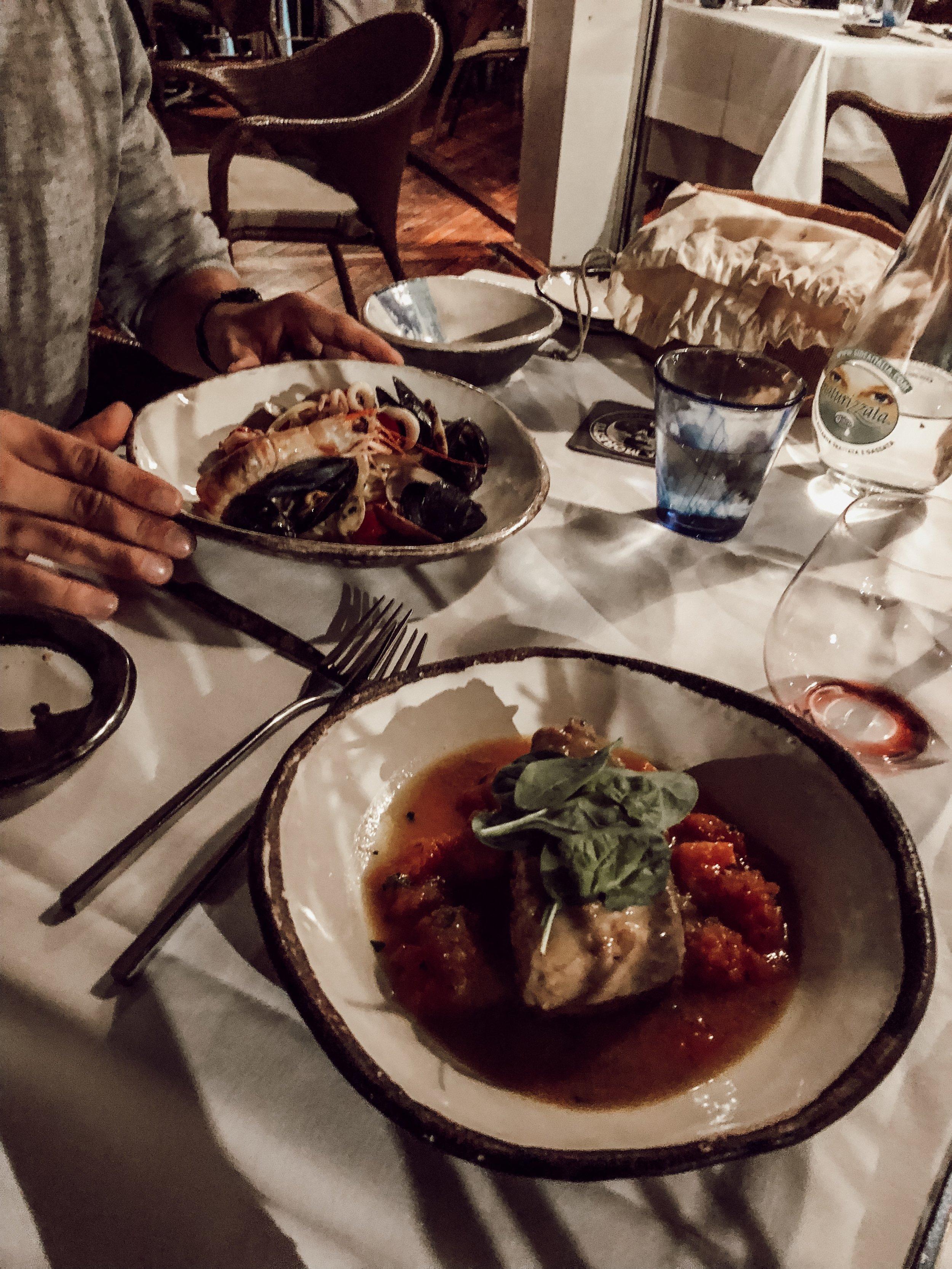 Dinner at Marina Grande Where to Eat Amalfi Coast | Three Days on the Amalfi Coast, Amalfi Travel Guide, What to Do in Amalfi Italy | Miranda Schroeder Blog