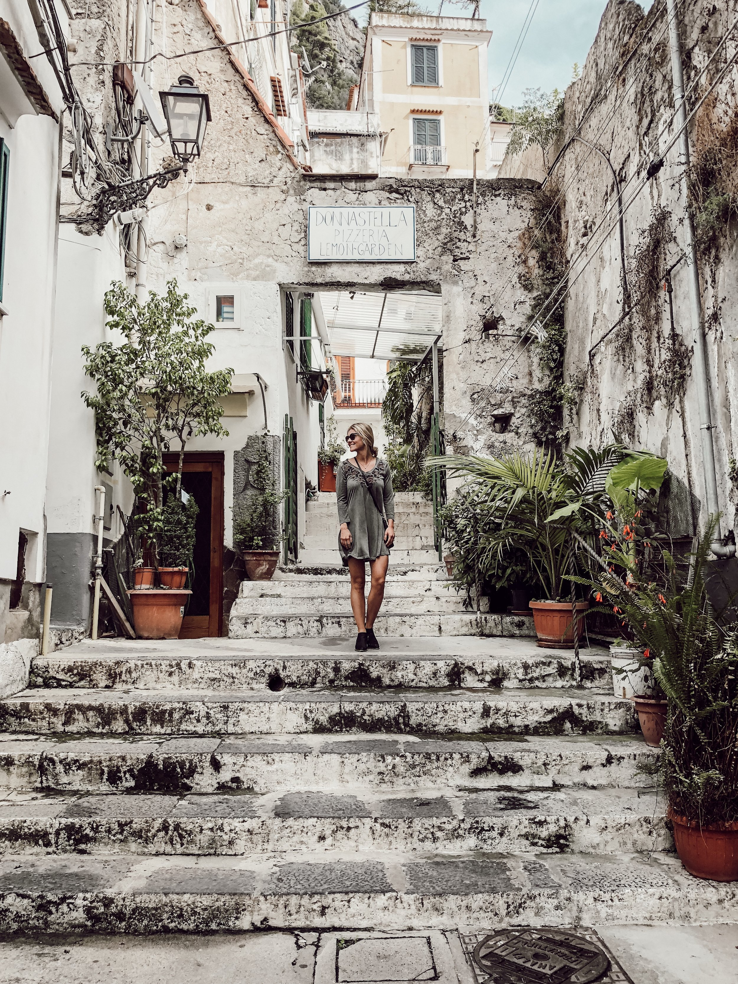 Donnastella Pizzeria and Lemon Garden Miranda | Three Days on the Amalfi Coast, Amalfi Travel Guide, What to Do in Amalfi Italy | Miranda Schroeder Blog
