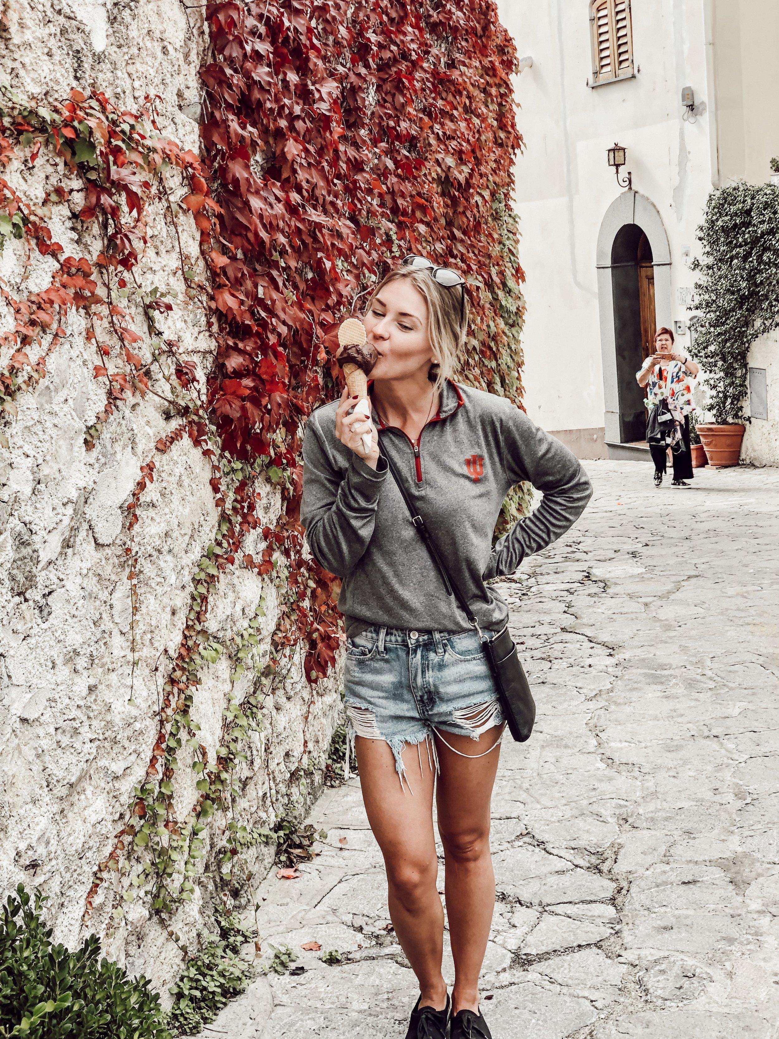 Ravello Gelato | Three Days on the Amalfi Coast, Amalfi Travel Guide, What to Do in Amalfi Italy | Miranda Schroeder Blog