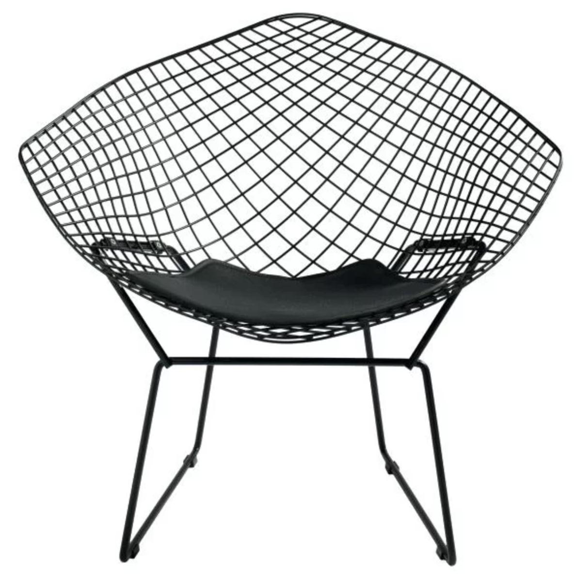 Black Metal Wire Onion Creek Papasan Chair Accent Chair Roundup | Modern, Industrial, Rustic, Beach, Boho Accent and Arm Chairs | Miranda Schroeder Blog