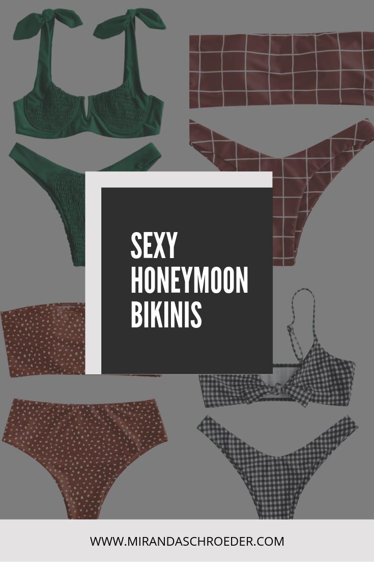 Sexy Honeymoon Suits | Zaful Swimwear Review | My Cheeky, Thong and High Waisted Honeymoon Bikinis | Miranda Schroeder Blog