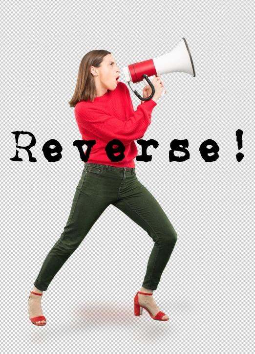 Reverse! Woman megaphone .jpg