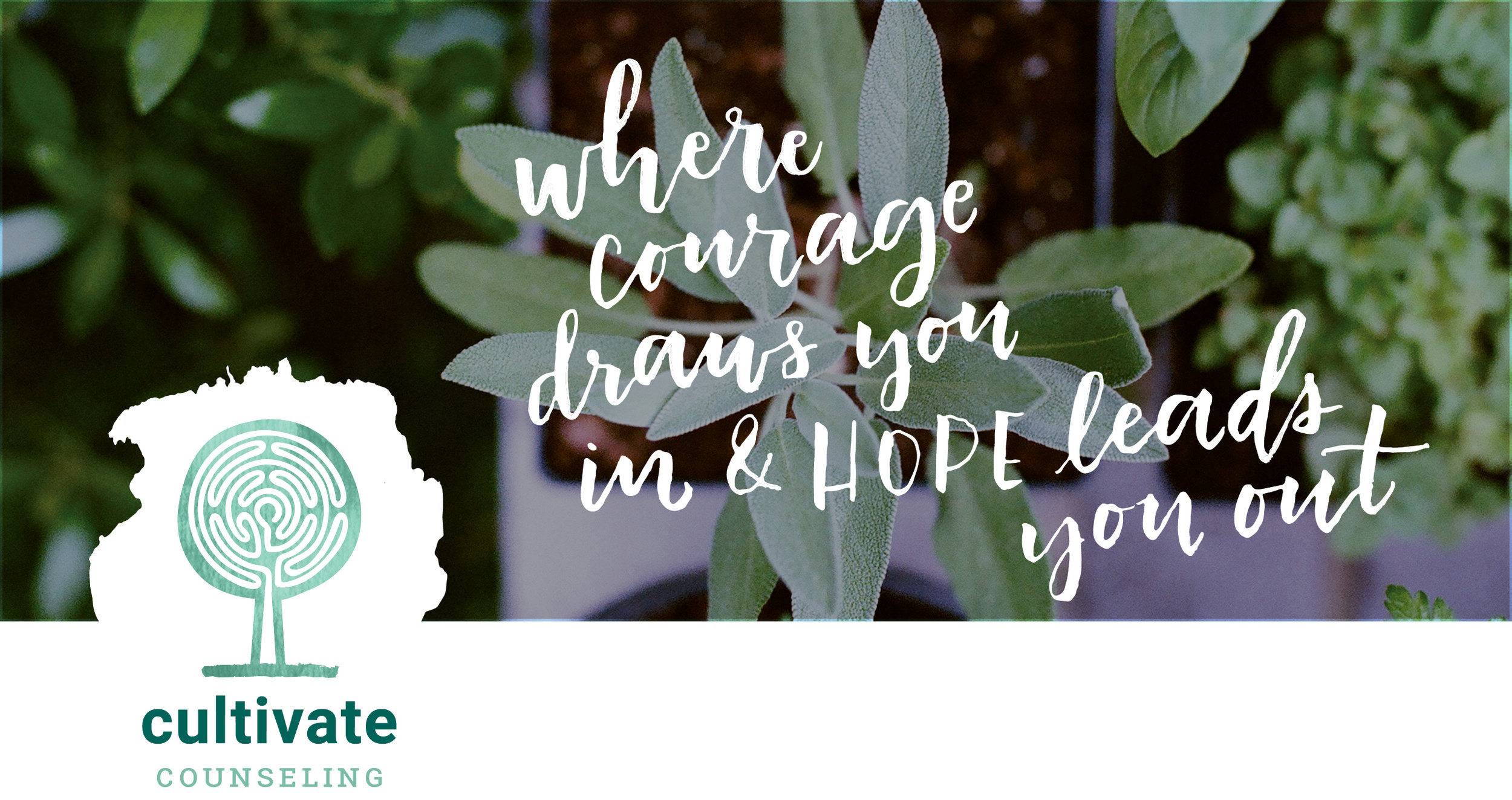 Cultivate counseling, counseling services with courage and hope