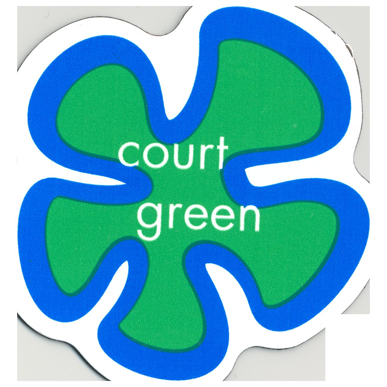 - Court Green refrigerator magnet, 2006