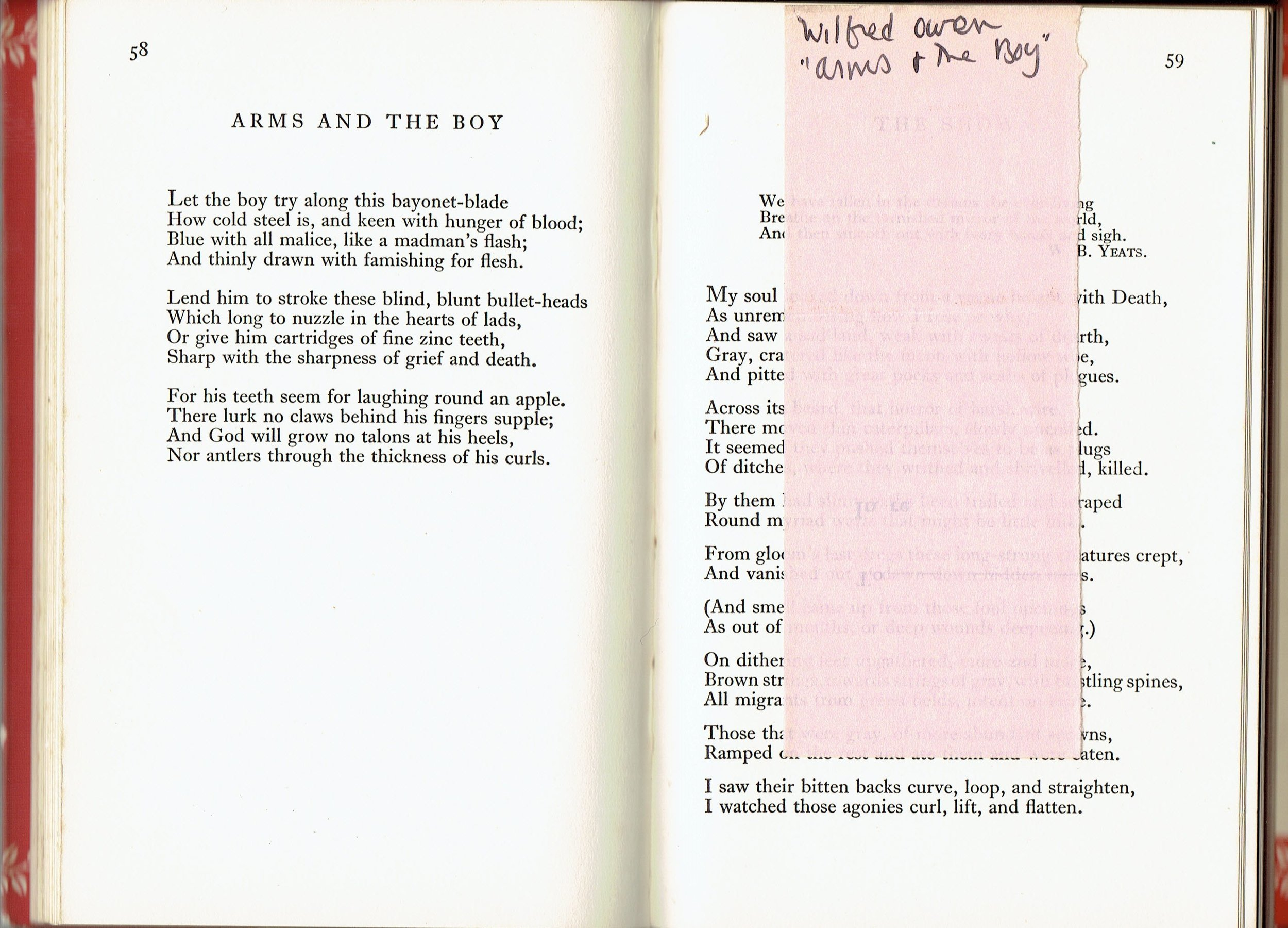 Poems_of_Wilfred_Own_Monteith_Arms_page.jpg