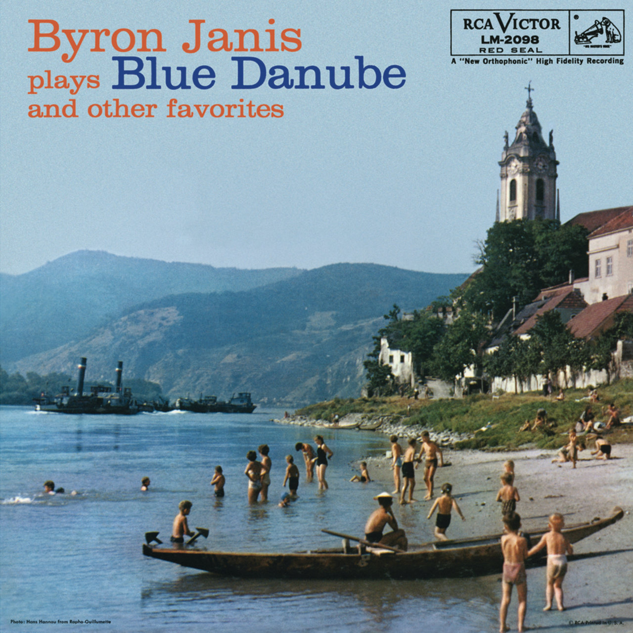 Byron Janis Plays Blue Danube and Other Favorites   Back:  Byron Janis Plays Blue Danube and Other Favorites  Byron Janis, Pianist  Side 1  On The Beautiful Blue Danube Waltz, Op 314 7:04  Waltzes, Op. 39, Nos. 1-16: Waltz in A-Flat Major, Op. 39/15 1:45  Waltzes, Op. 39, Nos. 1-16:Waltz in B Major, Op. 39/1:Tempo giusto 0:45  Waltzes, Op. 39, Nos. 1-16: Waltz in E Major, Op. 39/2: Dolce 1:27  Waltzes, Op. 39, Nos. 1-16: Waltz in C-Sharp Major, Op.39/6: Vivace 0:52  Valse brilliant, in E Minor, No. 2 from Waltzes Op.34 5:14  Waltz No. 1 in G Minor, Op. posth 2:44  Ballade No.1 in G Minor, Op.23 9:32  Etude No. 8 in F Major from 12 Etudes, Op. 10 2:28  Liebestraum No. 3 in A-Flat 4:29  Hungarian Rhapsody No. 6 in D-Flat 7:07   Recorded between 1947-1959   Total Length: 43:18