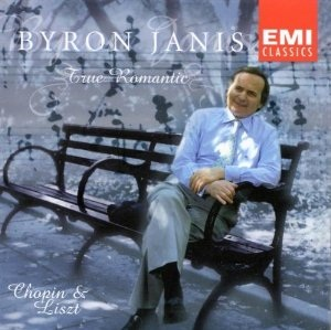 Byron Janis: True Romantic  Front:  Chopin & Liszt  Back:  Chopin: Impromptu in A flat, Op. 29 4:30  Chopin: Etude in C-sharp minor Op. 25, No. 7 6:13  Chopin: Mazurka in C-sharp minor, Op. 15, No. 3 5:15  Liszt: Sonetto del Petrarca, No. 104 6:42  Chopin: Nocturne in G major, Op. 37, No. 2 6:18  Chopin: Waltz Brilliante in E flat, Op. 18 (Yale Version) 4:01  Liszt: Sans Mesure 2:35  Chopin: Waltz in C-sharp minor, Op. 64, No. 2 3:54  Liszt: Consolation No.5 3:17  Chopin: Muzurka in F minor, Op. 68, No. 4 3:47  Wagner- Liszt: Liebestod 9:20  Inside Back Cover of Booklet:  Recorded October 4-7 1998 at the American Academy of Arts and Letters, New York City  Photography: Nora Feller  Creative Direction: Gordon H Lee Art Direction & Design: Carla Leighton @ Gloo Design  Recorded 1998  Total Playing Time 56:28  Leningrad Order Now  Byron Janis Limited Addition Vinyl  VISIT  BYRONJANISLIVE.COM  NOW AVAILABLE FOR PURCHASE  All Rights Reserved 2019 Janis Eleven Enterprises, LTD