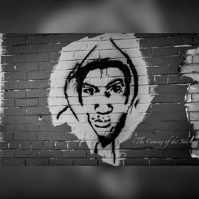 Trayvon. Happy Birthday. We love you. . . . #thecomingofthesun #blackandwhitephotography #blackhistorymonth #blackhistory365 #trayvonmartin