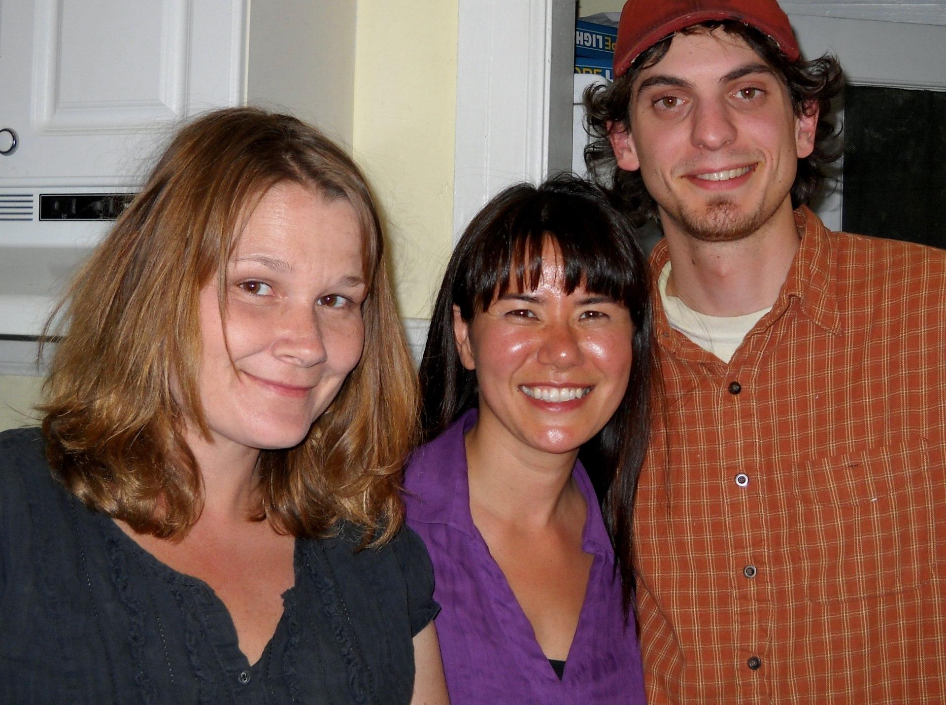 Nicki, Kathy, and Ryan