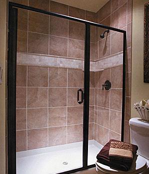 framed-glass-shower-doors-alexandria-va