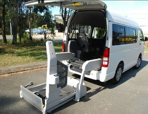 VIEW OUR TOYOTA HIACE RANGE