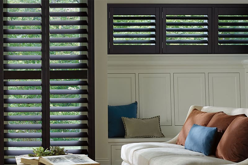 Wood and Faux Plantation Shutters for Rooms and Homes Near Kalispell, Montana (MT)