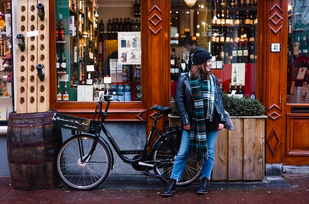 Jess, during Mac&Moore's sojourn in Amsterdam