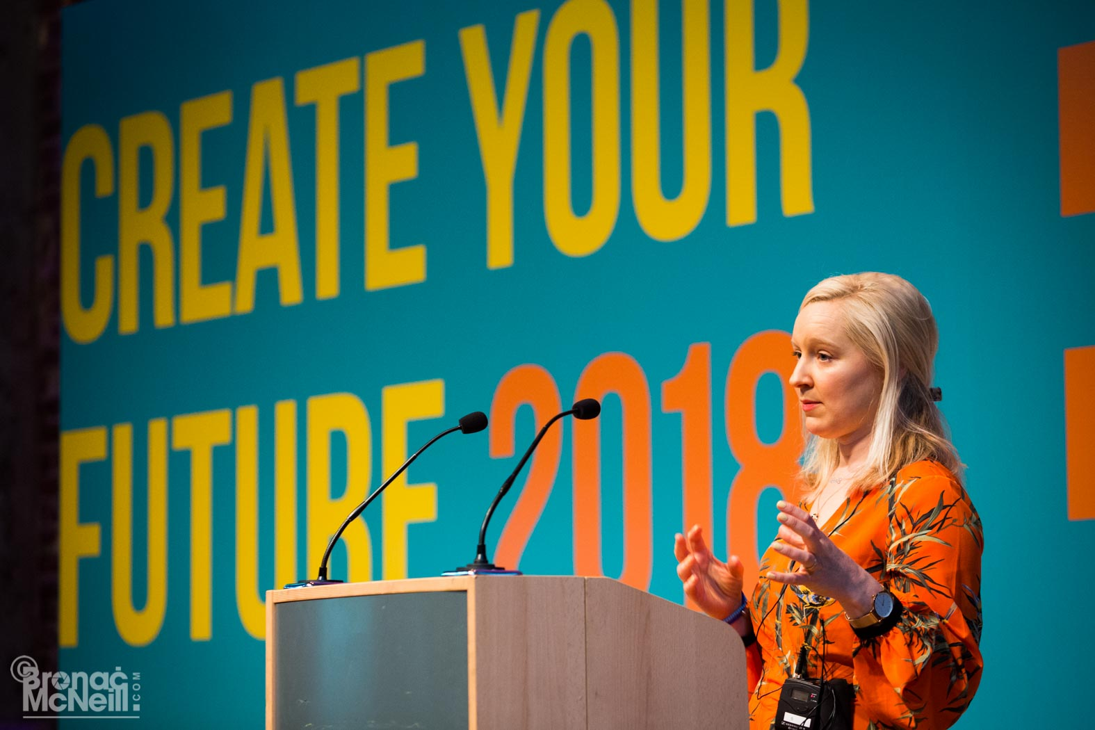 Speaking at the Creative Equals conference
