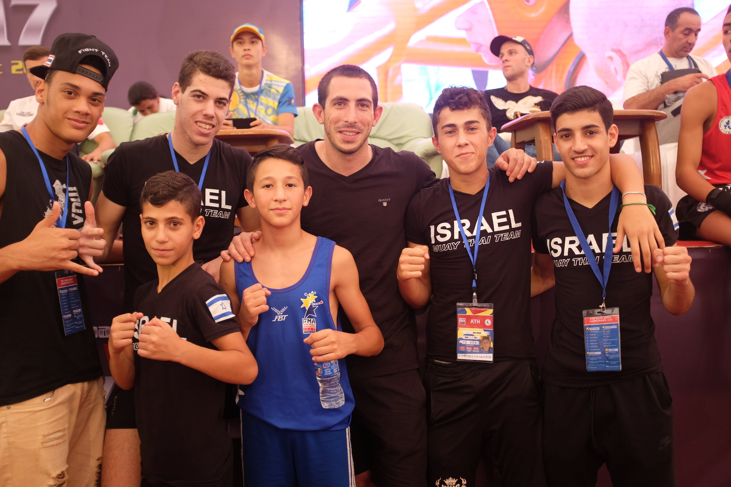 The Team Israel Crew