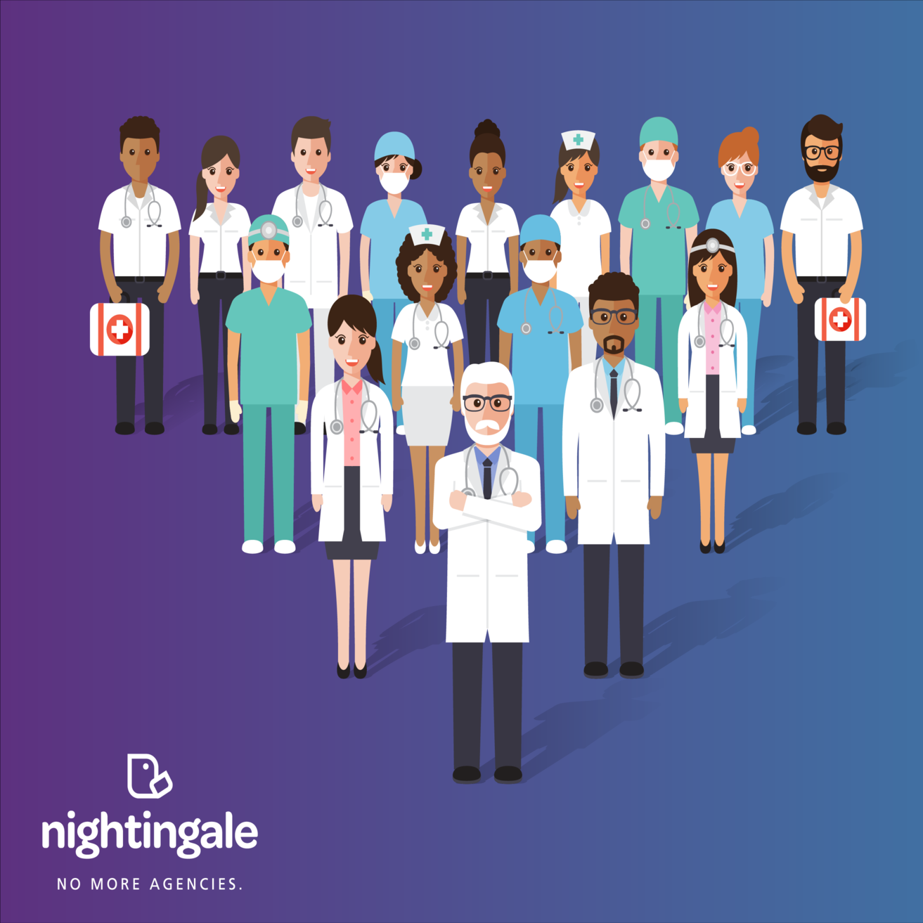 Nightingale App - Boss Your Brand launches this revolutionary app into the health sector to disrupt the current agency industry.