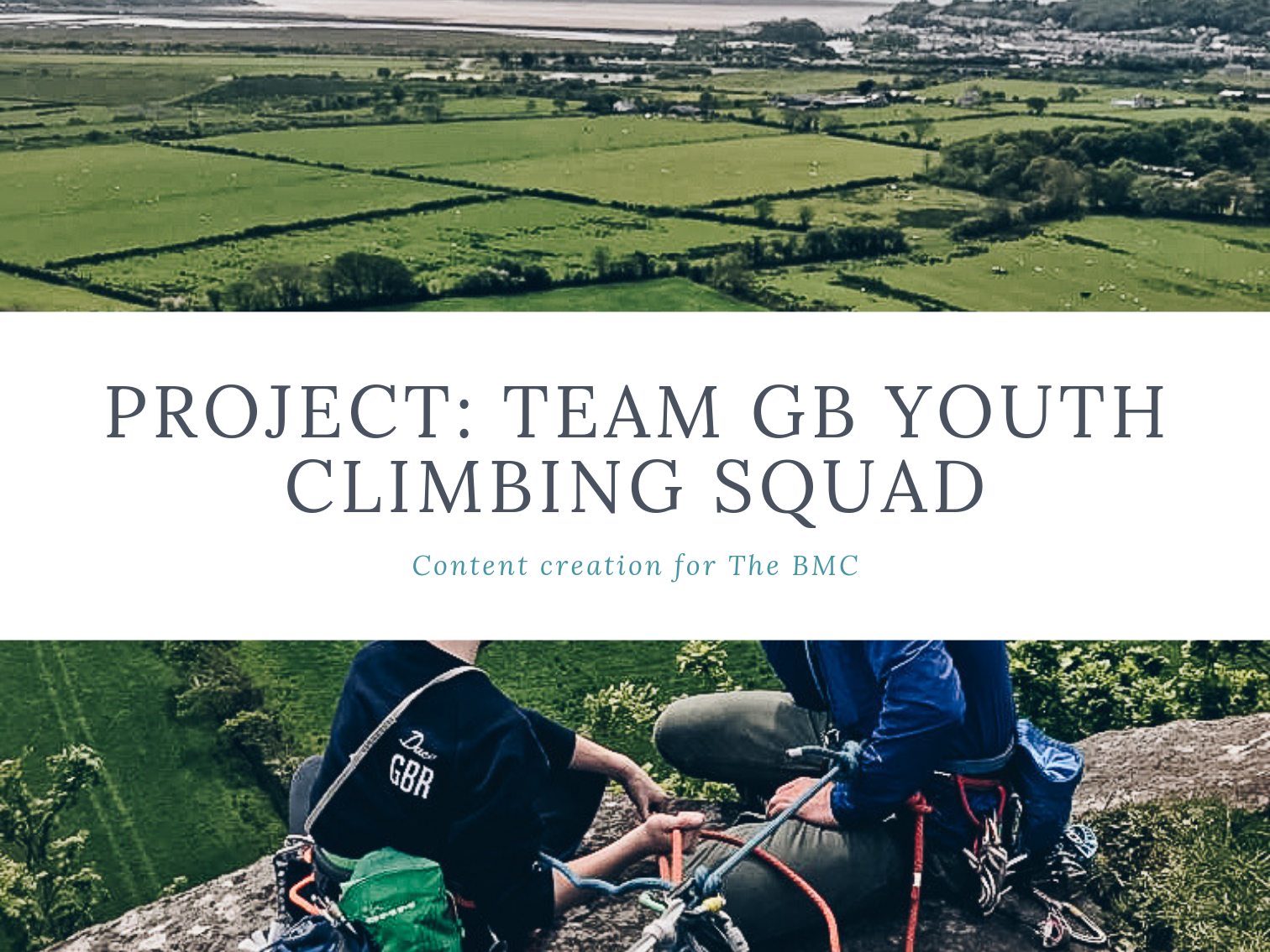 Laura Rose Creative Anchor Dash Content Photography Copywriting Project: Team GB Youth Squad at Plas-Y-Brenin