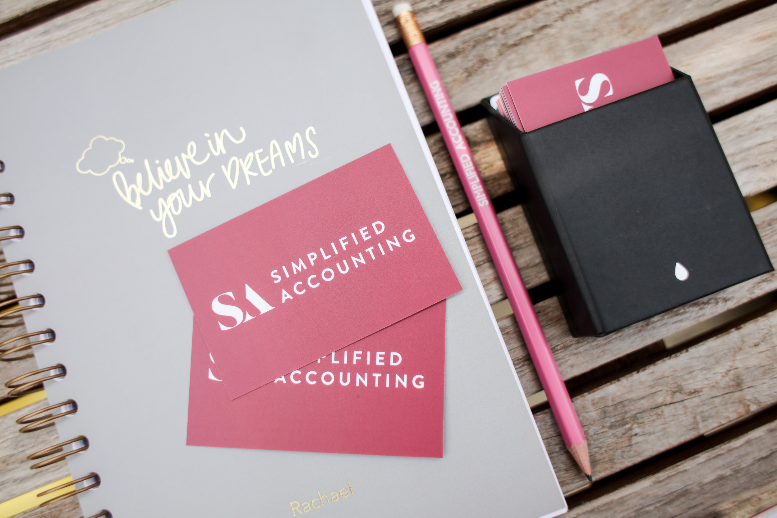 Laura Rose Creative - Content Brand Photography - Simplified Accounting