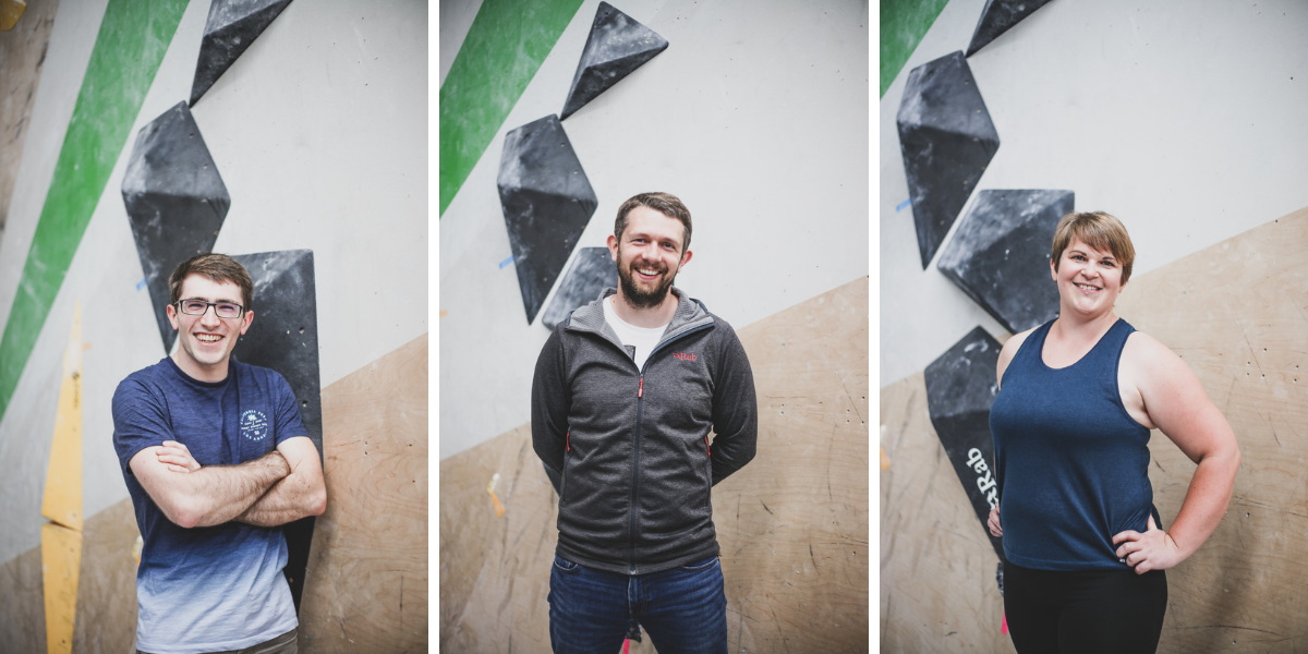 The Peak Pro Fitness team @ The Climbing Works, Sheffield