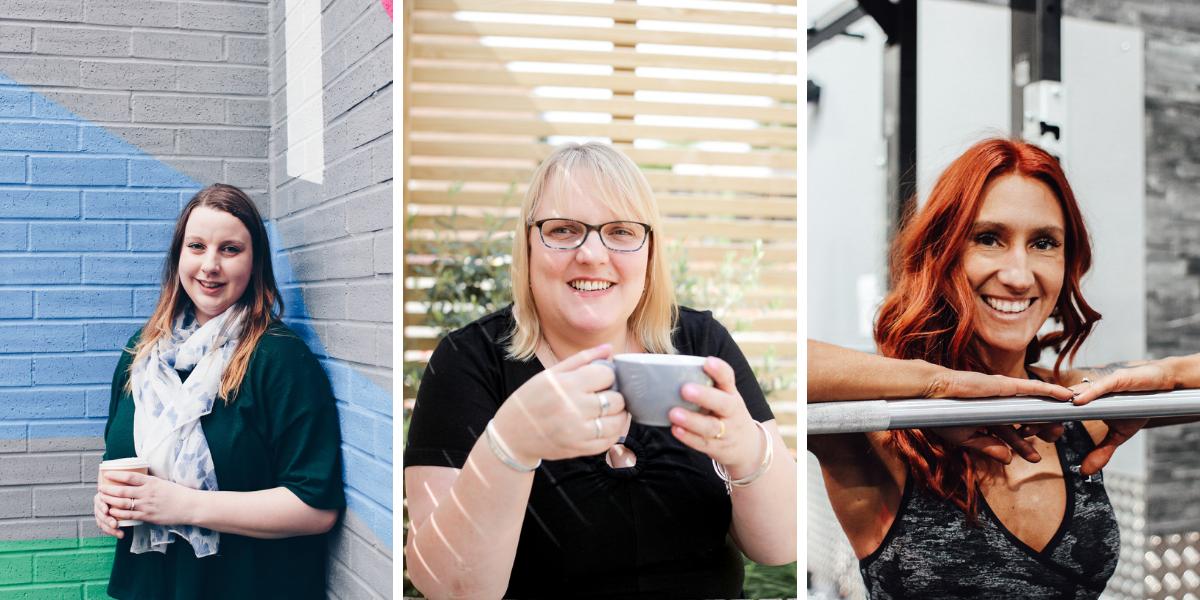 L-R: Beckie @ Infinity Digital | Rachael @ Simplified Accounting | Sarah @ Bear Fit