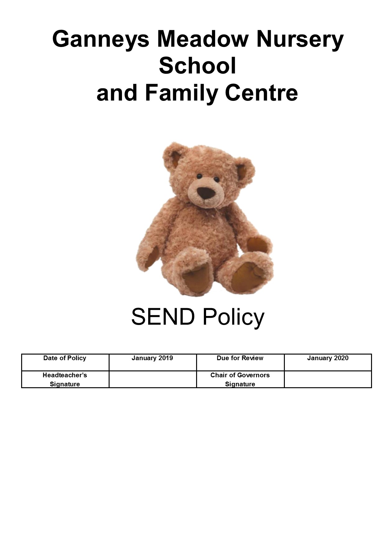 SEND policy 2019 page 1.jpg