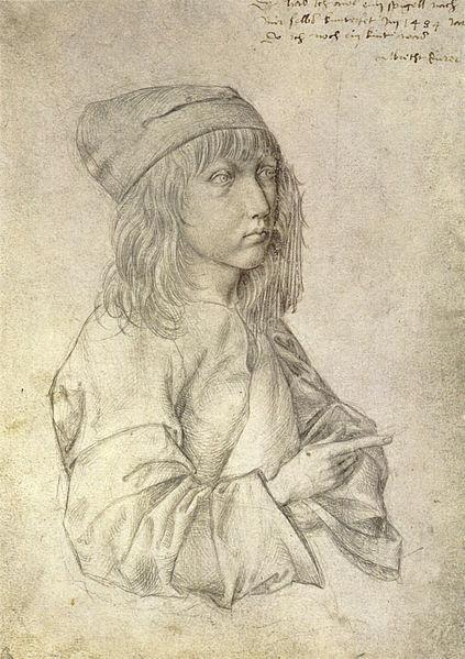 Self-portrait at 13, Albrecht Dürer
