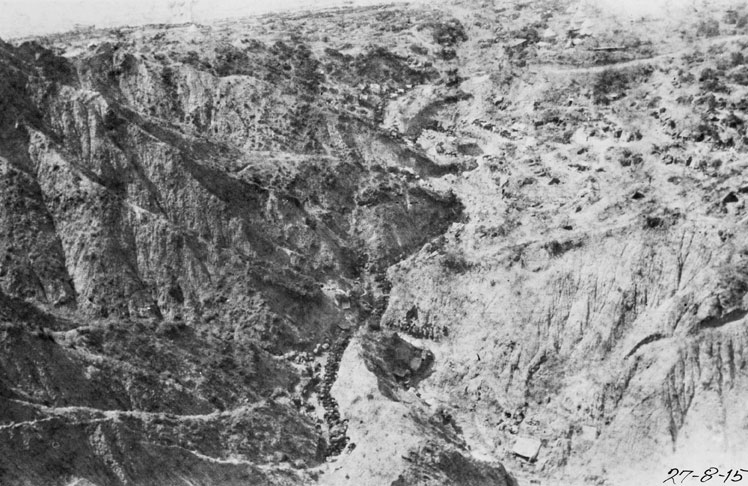Walker's Ridge, Gallipoli, 1915