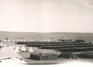 Desert Camp, Egypt, 1915