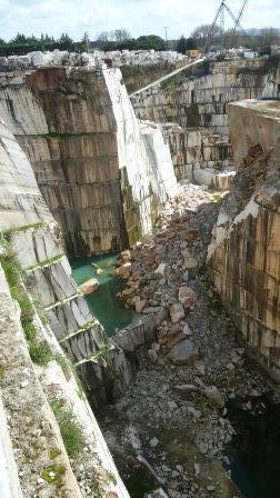 Estremoz Municipal Marble Quarry, photograph Jeannine Cook