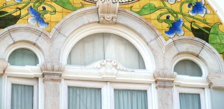 Estremoz windows, photograph Jeannine Cook